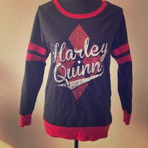 Harley Quinn sweatshirt size medium